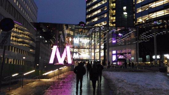 Solna, Sverige: Наконец дошла до входа