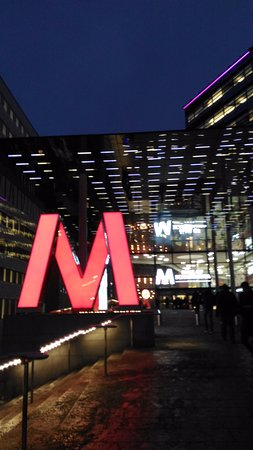 Solna, Sverige: М - это не Метро, а MALL