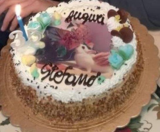 Caselle Torinese, อิตาลี: Torta compleanno