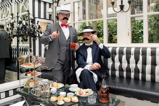 Afternoon Tea at The Milestone Hotel: Gentleman's Afternoon Tea back by popular demand. March - April