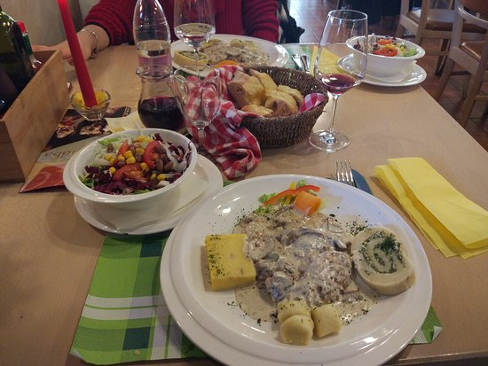 Rakek, Slovenia: Secondo piatto
