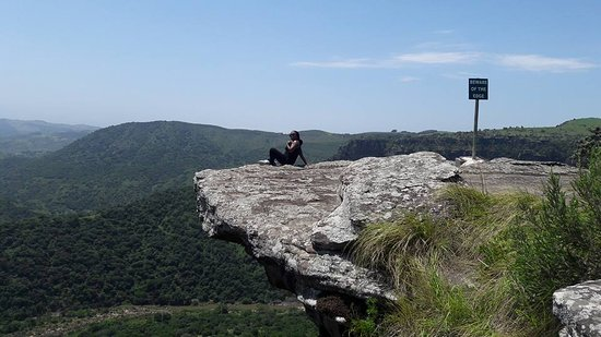 Port Shepstone, South Africa: The hanging rock