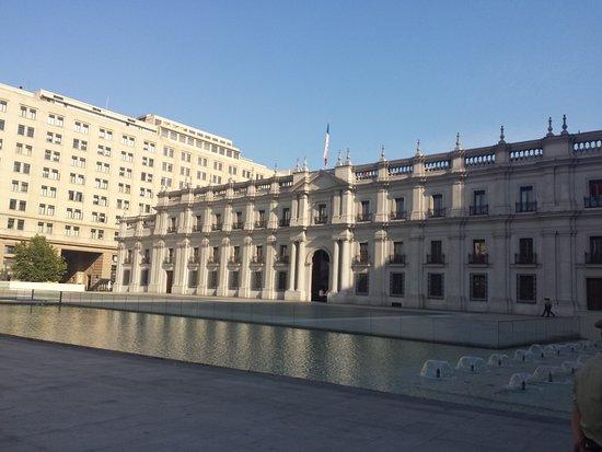 Santiago, Chile: frente do palácio