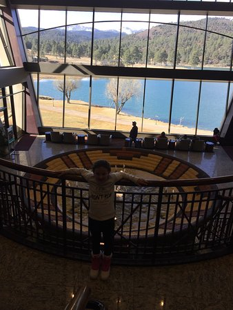 Mescalero, Nuevo Mexico: A gem of a place here set in the mountains and lake. An absolute must visit.