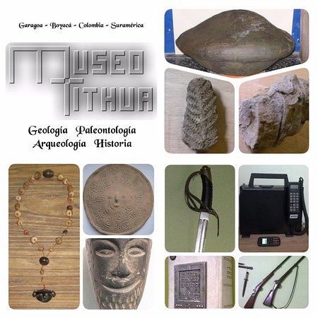Museo Tithua: Muestra de los atractivos del museo: Geología, Paleontología, Arqueología e Historia.