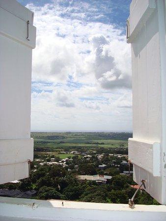 Saint George Parish, Barbados: vista de dentro do farol