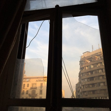 Bedouin Hostel: Bad view.  Noisy Broken window. Cold air coming in Heater non functioning Had problem lockin