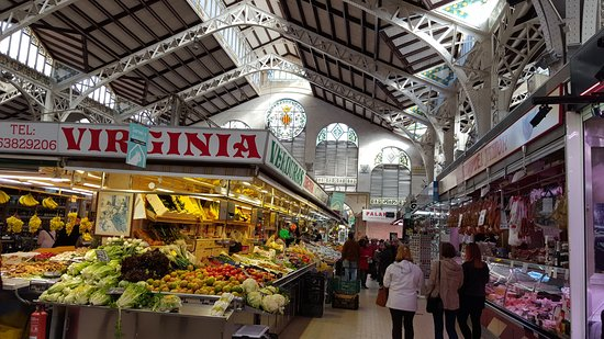 MERCADO CENTRAL DE VALENCIA - Picture of Central Market (Mercado Central), Va...