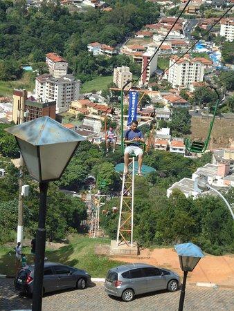 Serra Negra, SP: Teleférico