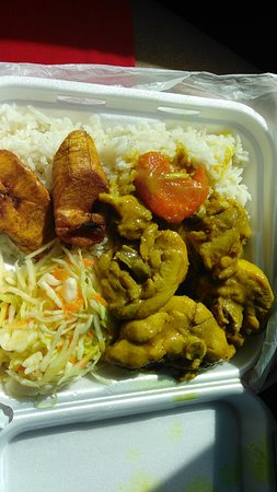 Food Curry Chicken With White Rice Picture Of The Dutch Pot