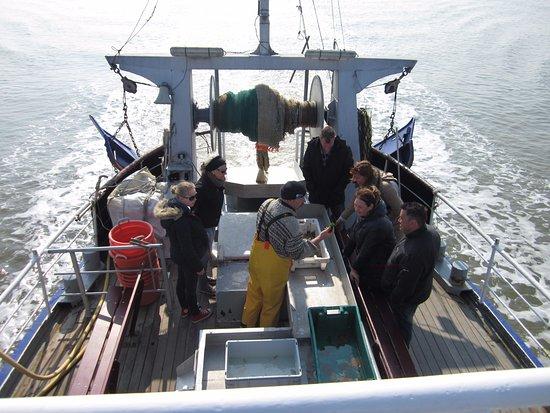 Ballum, The Netherlands: mooie uitleg schipper