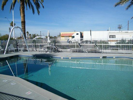 Gila Bend, AZ: pool for hotel