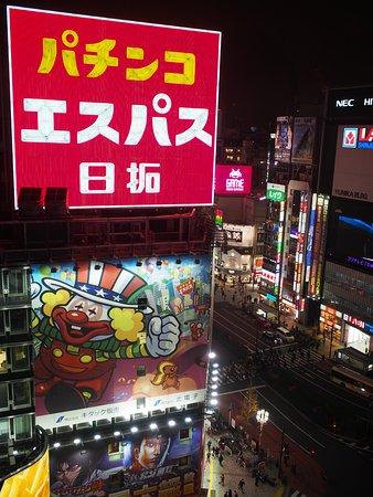 Shinjuku Prince Hotel: 這次的房間窗外景觀