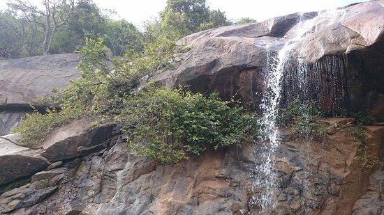 Jalagamparai Falls: The falls in the right season