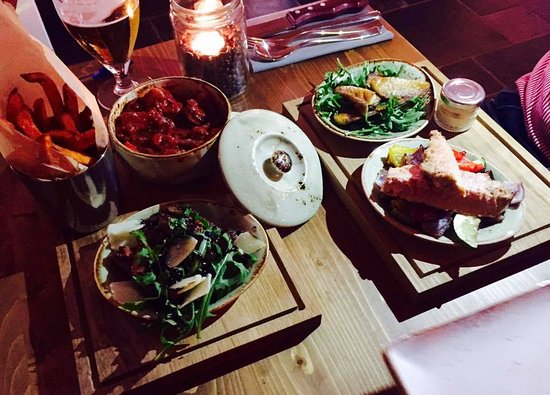 Tapas small plates for a social dining experience