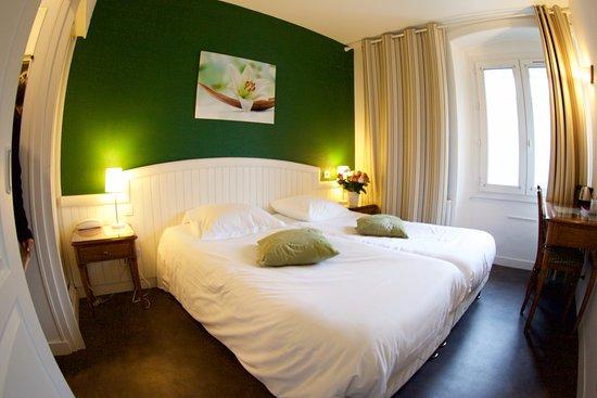 Chambre Twin éco Vue Sur Rue Picture Of Garden Hotel Rennes