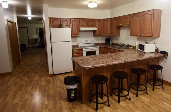Arcadia, WI: Village Suite Kitchen