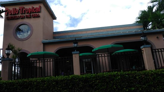 Coral Springs, FL: Sign, 1/4 chicken