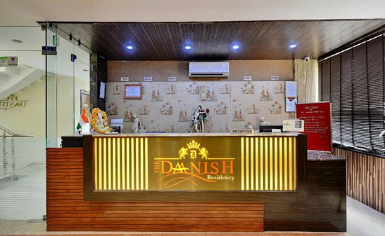 Hotel The Daanish Residency : Reception