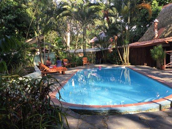 Playa Hermosa, Costa Rica: Relaxing pool