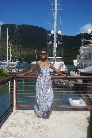 bahía de Marigot, Sta. Lucía: Beautiful view