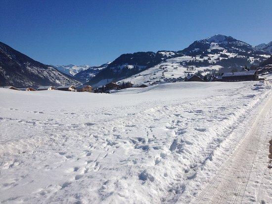 Zweisimmen, Svizzera: winterhiking