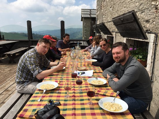Sona, Italia: Lunch in mountains
