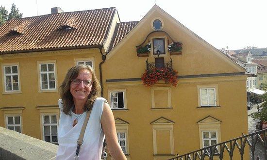Martina Guia em Praga