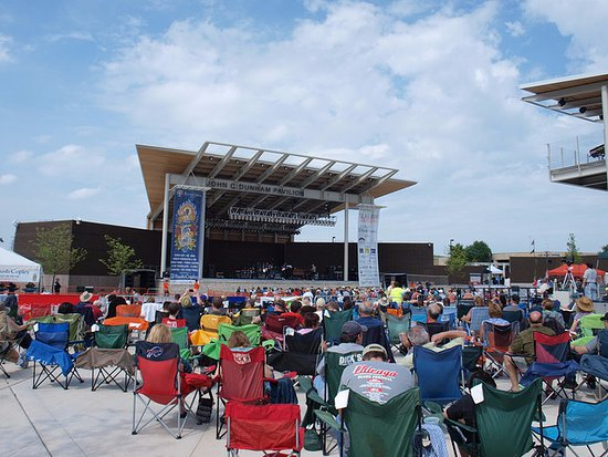 A comfortable and gorgeous place for a concert near downtown Aurora.