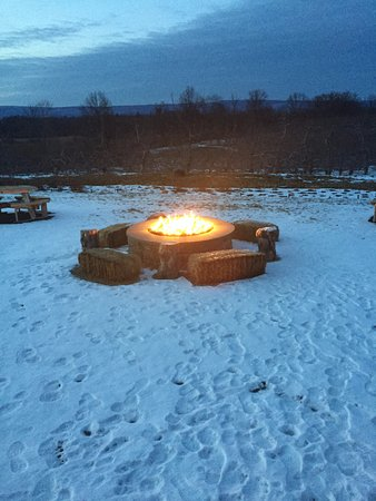 Walden, Estado de Nueva York: Outdoor fire pit