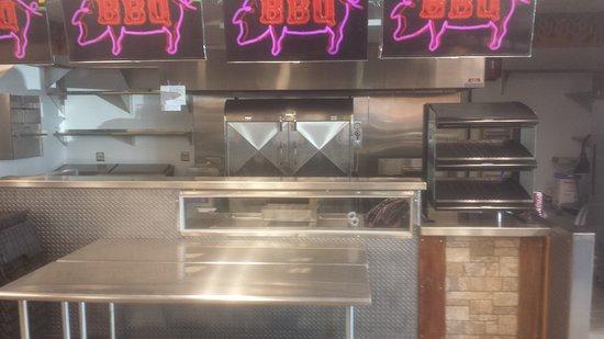 Delavan, Ουισκόνσιν: Papa's BBQ Pit Stop