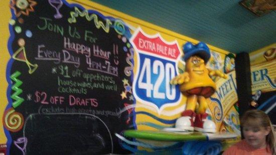 Foley, AL: Sign in Bar area