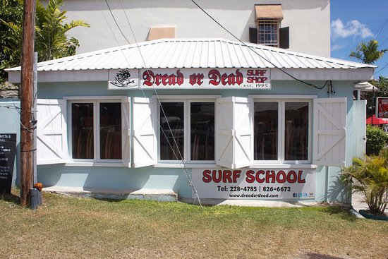 Hastings, Barbados: The New Dread or Dead surf shop