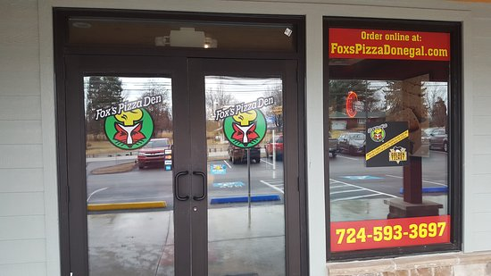 Donegal, PA: Fox's Pizza Den