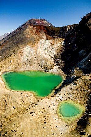 Turangi, New Zealand: DoC Approved Transport Providers to Tongariro Alpine Crossing with UNIQUENESS!