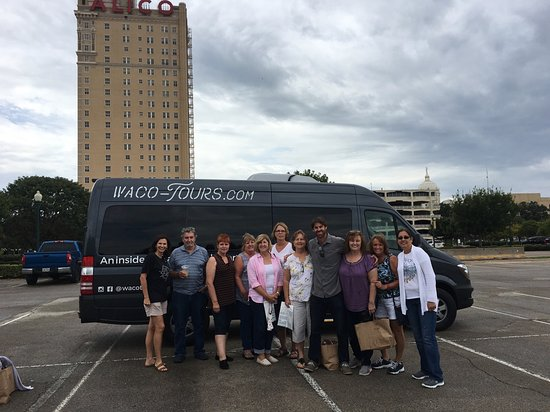Getting started on our Classic Waco Tour!