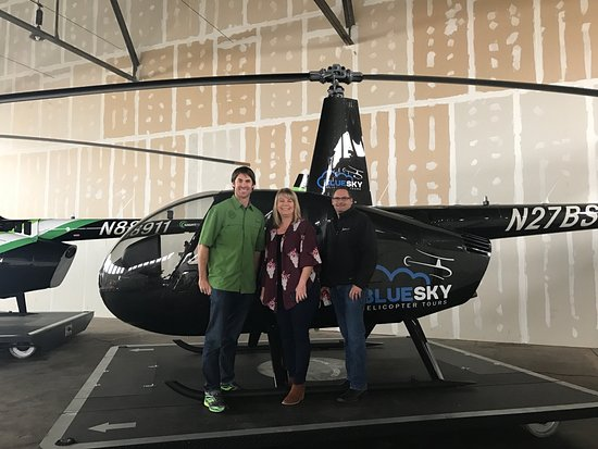 We're excited to partner with Blue Sky helicopter tours to provide tours of Waco from the sky!
