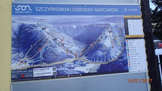 Mapa Tras Picture Of Szczyrk Mountain Resort Tripadvisor