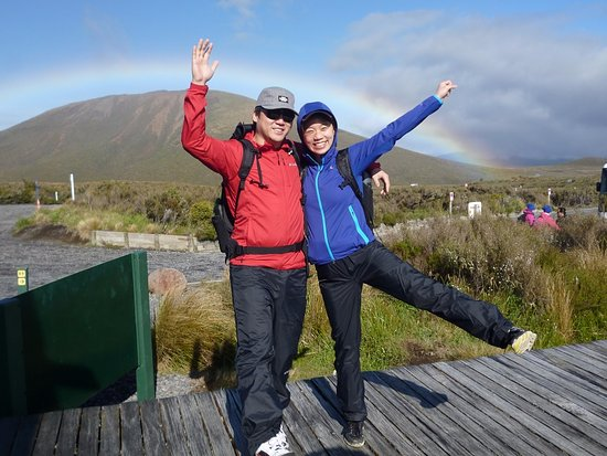 Turangi, Nueva Zelanda: Be prepared, be aware, be equipped for the Tongariro Alpine Crossing