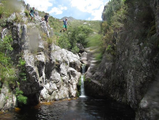Grabouw, Afrique du Sud : Places where you can climb up to jump higher