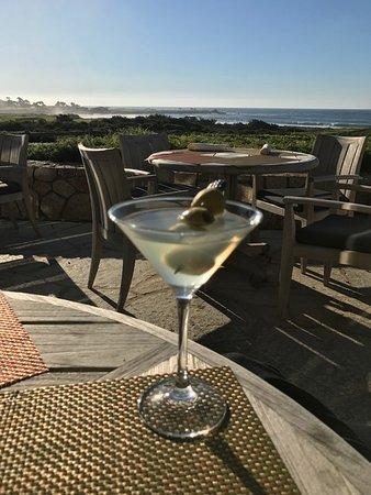 Pebble Beach, CA: Dirty Martini