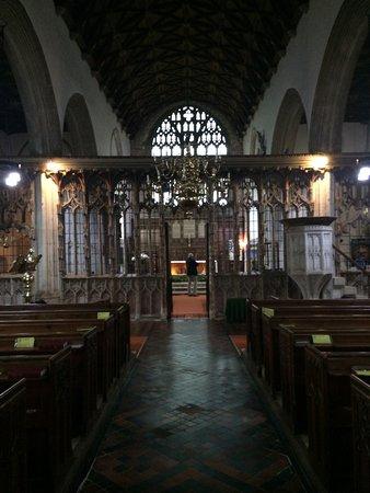 Totnes, UK: East towards altar.