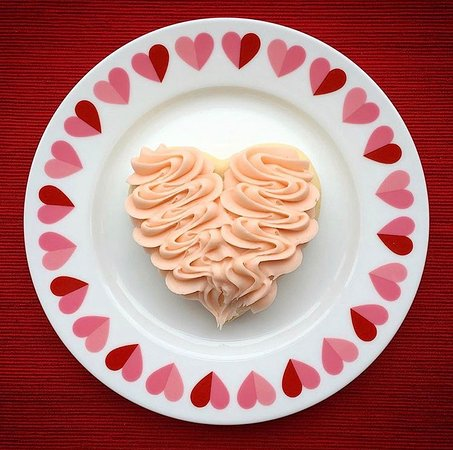 American Fork, UT: Vanilla Heart Sugar Cookie
