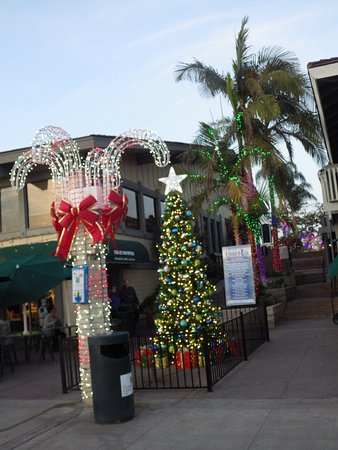 Dana Point, كاليفورنيا: Xmas decorations