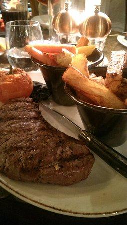 Seamer, UK: Steak!