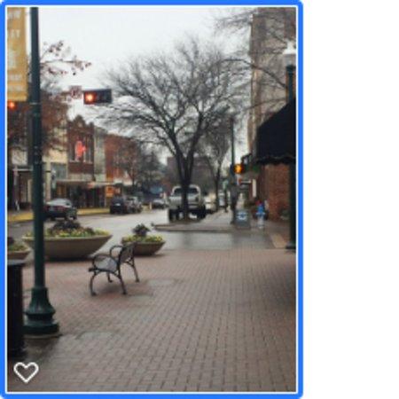 McKinney, TX: Still charming in the rain...