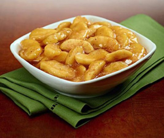 Anderson, SC: Cinnamon apples make a great side dish or dessert!