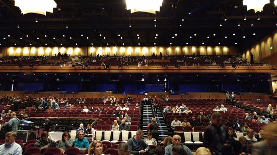 Oxon Hill, MD: The Theater at MGM - from the front (floor) looking back toward the balcony
