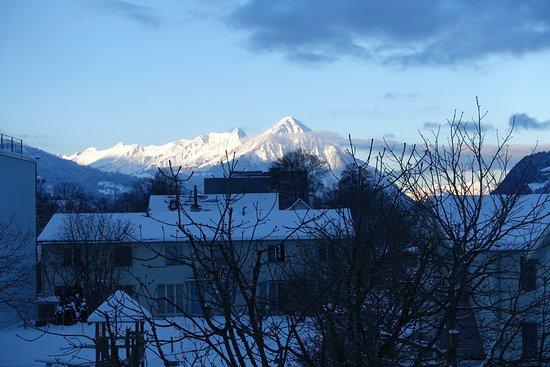 Hotel Artos Interlaken: Blick vom Balkon Zimmer 209