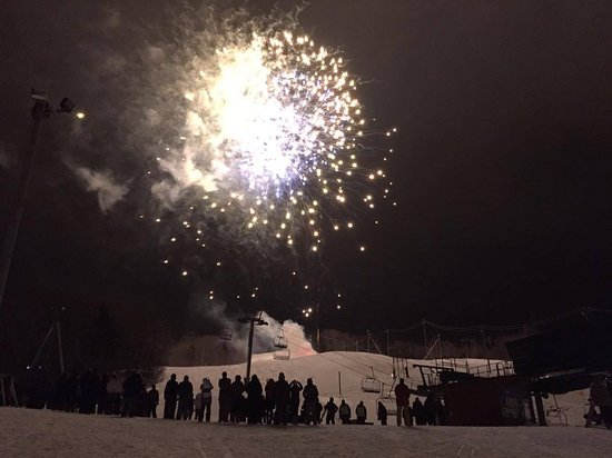 Bolton Valley, Вермонт: The firework show